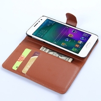 Top level Best-Selling folio cover leather case for samsung a3