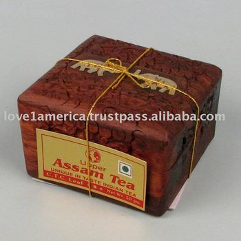 TEA GIFT PACKS IN WOODEN BOXES