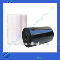 Shrink cling protective film for wood