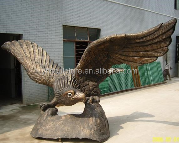 antique bronze eagle