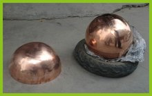 500 600 700mm hollow pure copper sphere
