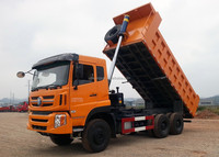 2480mm extended cab 380 hp10-wheel heavy truck for sale