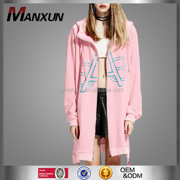 Top Quality Custome Hoodies Hip-hop Style Supreme Hoodie Young Girls Pink Women Coat