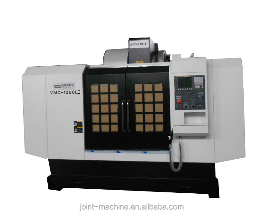 3 axis high precise parts processing linear way cnc machine center VMC-1060L