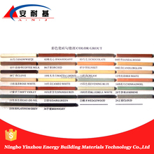 various color ceramic tile grout