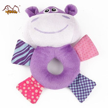 Wholesale Best Selling Cow Shape Customized Plush Pet Toy