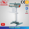 Hongzhan KS350/450/600 plastic foil bag penumatic type sealing Foot pedal press impulse sealing machine
