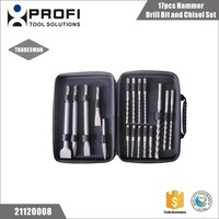 China factory supplier 17pcs stone drilling sds plus bit set