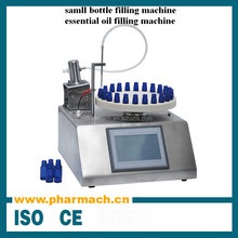 Small scale manual type bottle filling machine for essential oil product