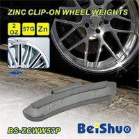 Auto accessories wheel balance weight, Fe&Zn,type adhesive &clip on, keep wheel balanced