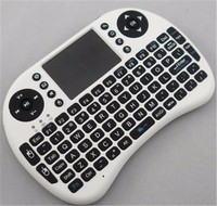 keyboard arabic I8 wireless mini keyboard with touchpad support Android tv box mobile phone and PC