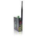 rugged industrial wireless ethernet lte 4g 3g cellular vpn router with din rail