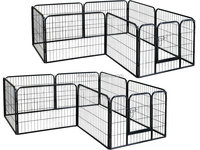 Modular Dog Exercise Pen in 80cm -100cm Height