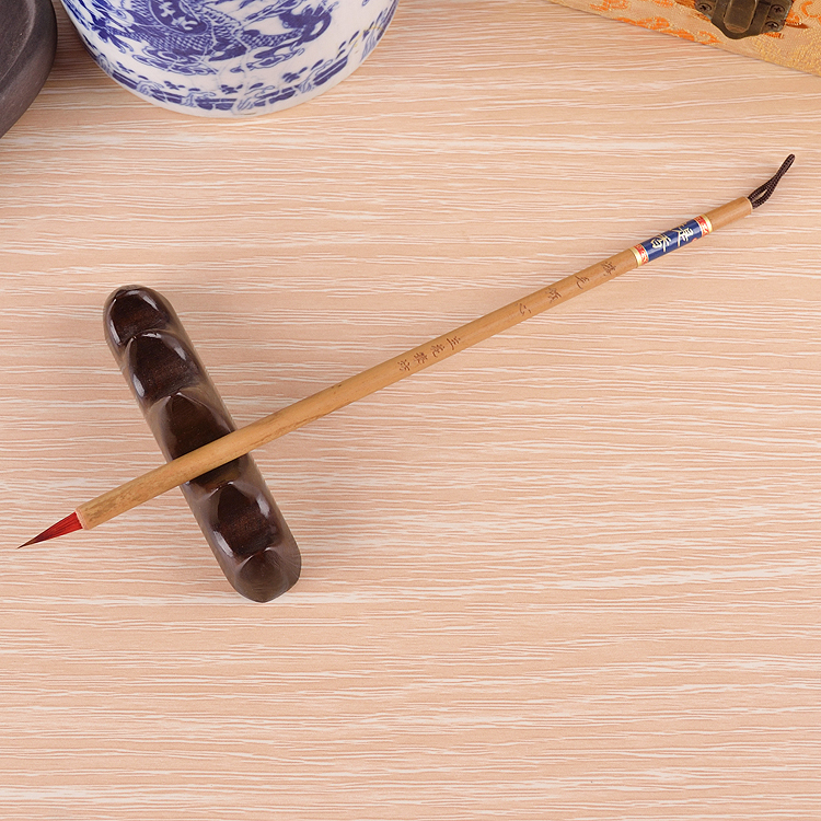 High Quality Wooden Calligraphy Pen Set Writing Brush
