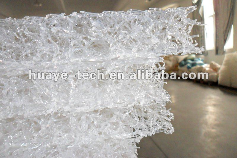 Plastic coil mattress for bed room