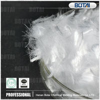 PP fiber/ polypropylene fiber fibre for Advanced Drymix concrete
