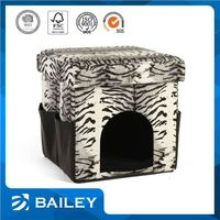 modern pet house seat dog with lid ottoman