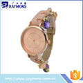 2017 New design ladies quartz custom watch made in china