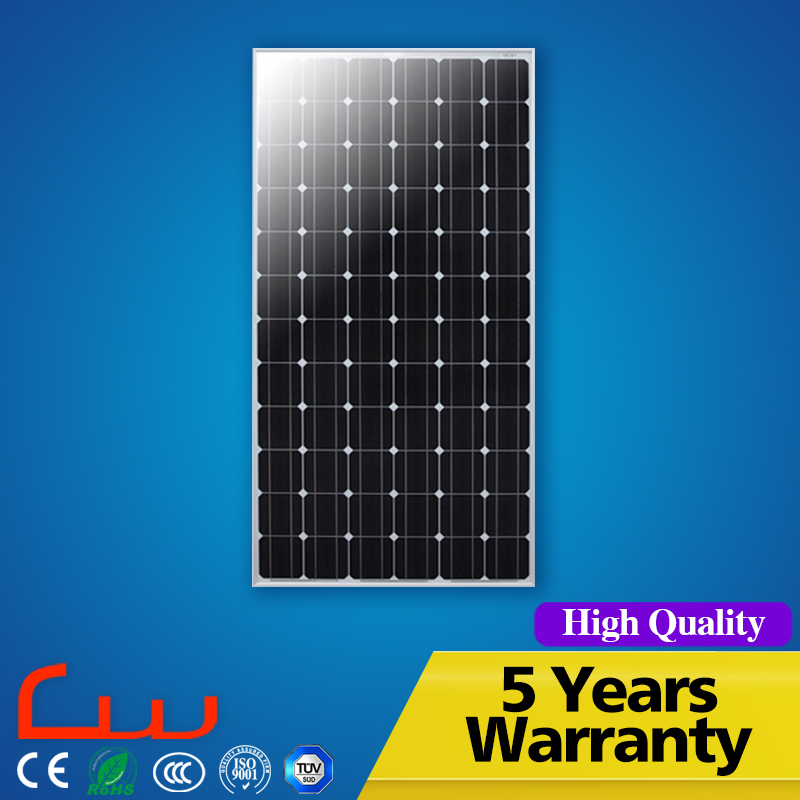 Gooverment project high power 250 watt photovoltaic solar panel