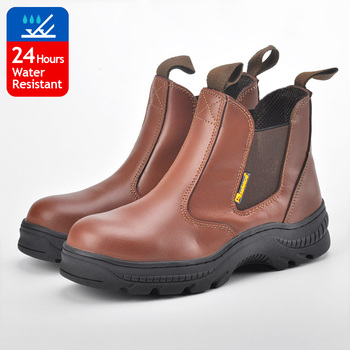 PPE equipment mining safety shoes welding rubber hot resistant