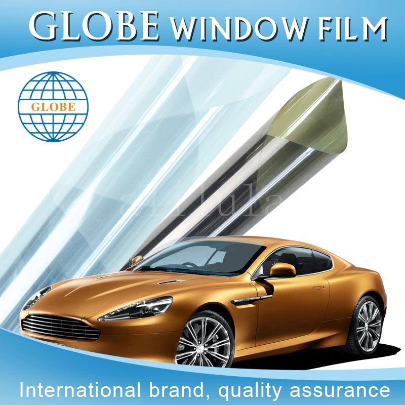 Sun block clear pet car protection heat resistant coloured plastic film like as llumar window tinting film quality