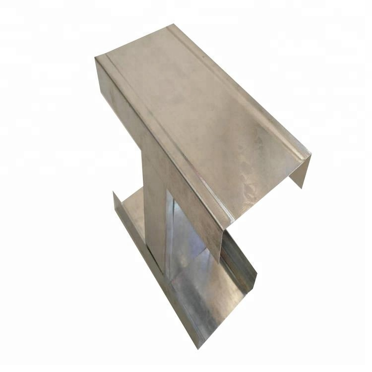 Drywall Metal Stud And Track /Stainless Steel Metal Stud/Drywall Light steel Profile For Gypsum Board
