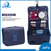 Cosmetic bag organizer mens polyester travel toiletry bag