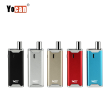 Mini box mod 2 in 1 quartz coil wax vaporizer and cbd oil tank Yocan Hive 2.0 cbd wax and pen