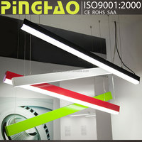 SAA CCC approved 40w 60w led pendant linear light