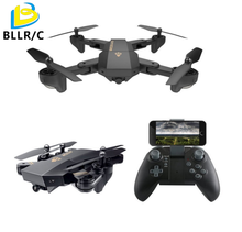 Mini Foldable 0.3mp wifi FPV hd camera with real time transmitter Visuo XS809W Drone RC drone