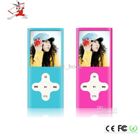 2016 fashion design high quality 8GB portable mp4 , song/games download