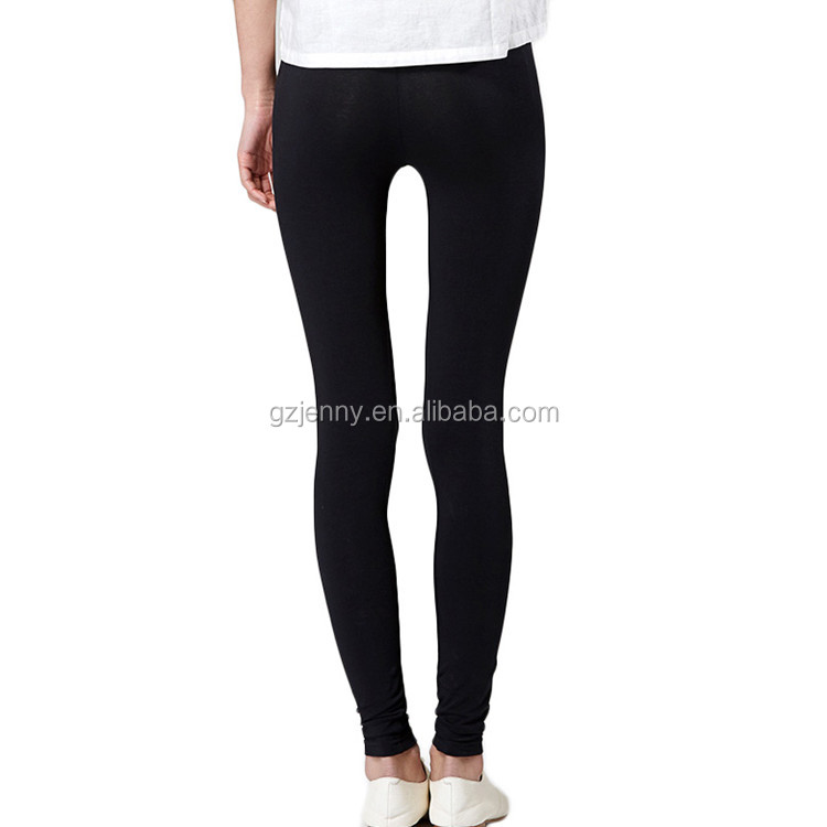 Wholesale Young Girls Custom Black Tights Seamless Legging