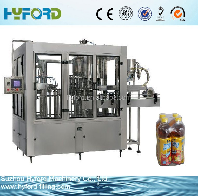 Automatic PET bottle water and juice bottle filling machine for sale