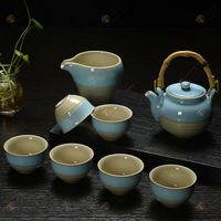TG-414W226-C-2 japanese tea set made in China toy tea cup set