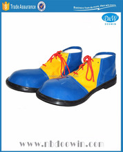 blue yellow clown shoes for Carnival/Party