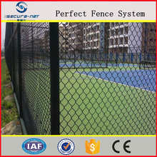 4ft Black Vinyl coated galvanzied Chain Link Fence for sale