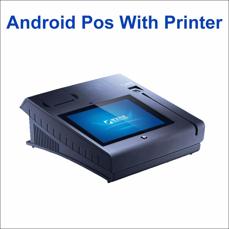 VIP Smart Card Reader Electronic Android Payment Terminal EMV Pos With Printer