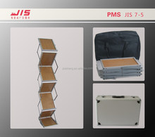 JIS7-5,A4 size foldable Wood board catalog stand, brochure holder,Magazine holder