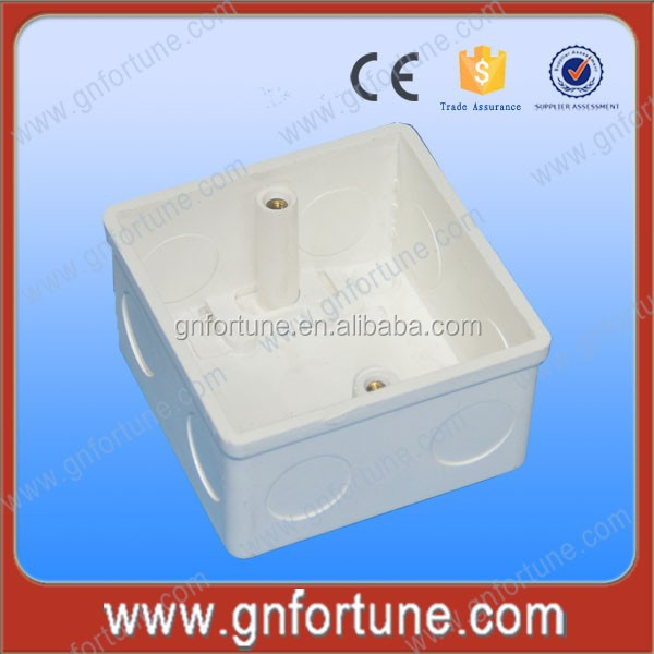 Electric 3X3 Fireproof PVC Modular Switch Box