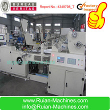 HAS VIDEO good manufacturer from ruian V bottom food kraft paper bag making machine price