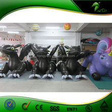 3M Long Inflatable toothless dragon,inflatable giant black dragon toy