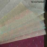 China supplier 28gsm mesh cloth jacquard mosquito net fabric
