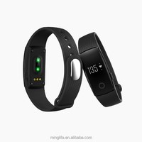 wholesale new trending hot products health and fitness bluetooth heart rate monitor smart wrist band step counter