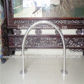strong and durable rust prevention surface mount hoop bike racks