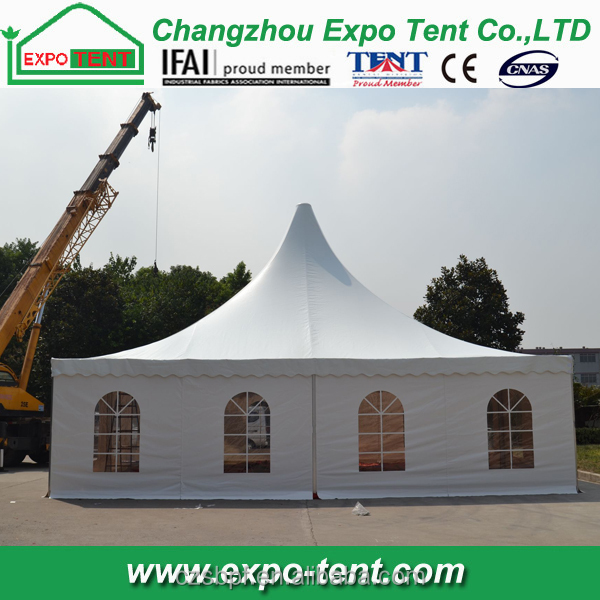 2016 New design 10x10m pagoda made in China