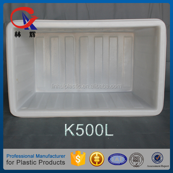 500L used plastic laundry carts folding for sale