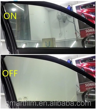 High Transparent Electric Switchable Self-adhesive Smart Tint for Car Windows Tint and House