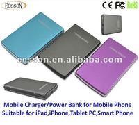 8000mAh multiple mobile phone battery charger