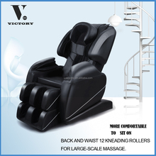 swivel recliner massage chair/sofa leather/spandex chair cover/2016 Best 3D L shape and Slide Zero Gravity massage chair