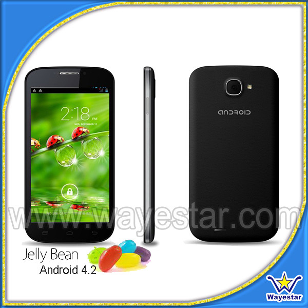 C30 5'' IPS QHD 540*960 Quad Core Cheap 3G Smartphone Android 4.2 Cellulari